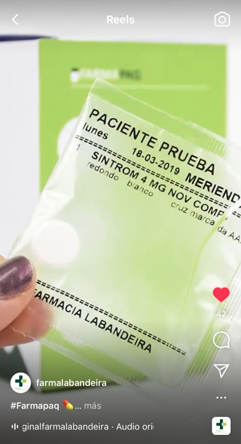 Farmapaq Farmacia Labandeira